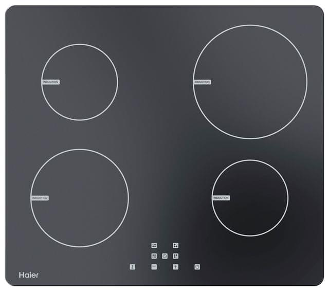 HAIER 60cm Induction Cooktop 4 Zone Touch Control (HCI604TB1)