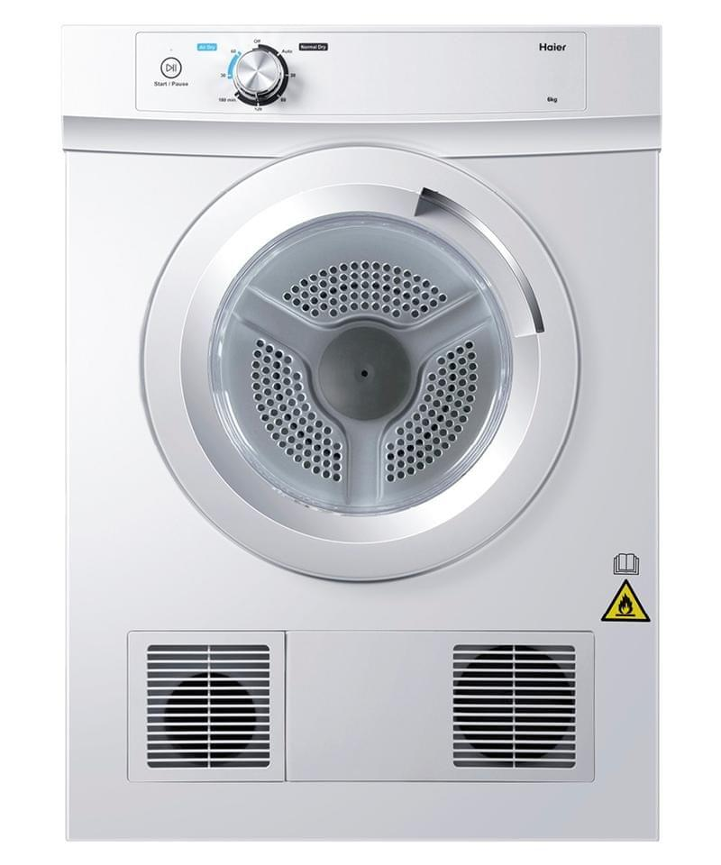 HAIER 6Kg Sensor Vented Dryer 2 Energy White
