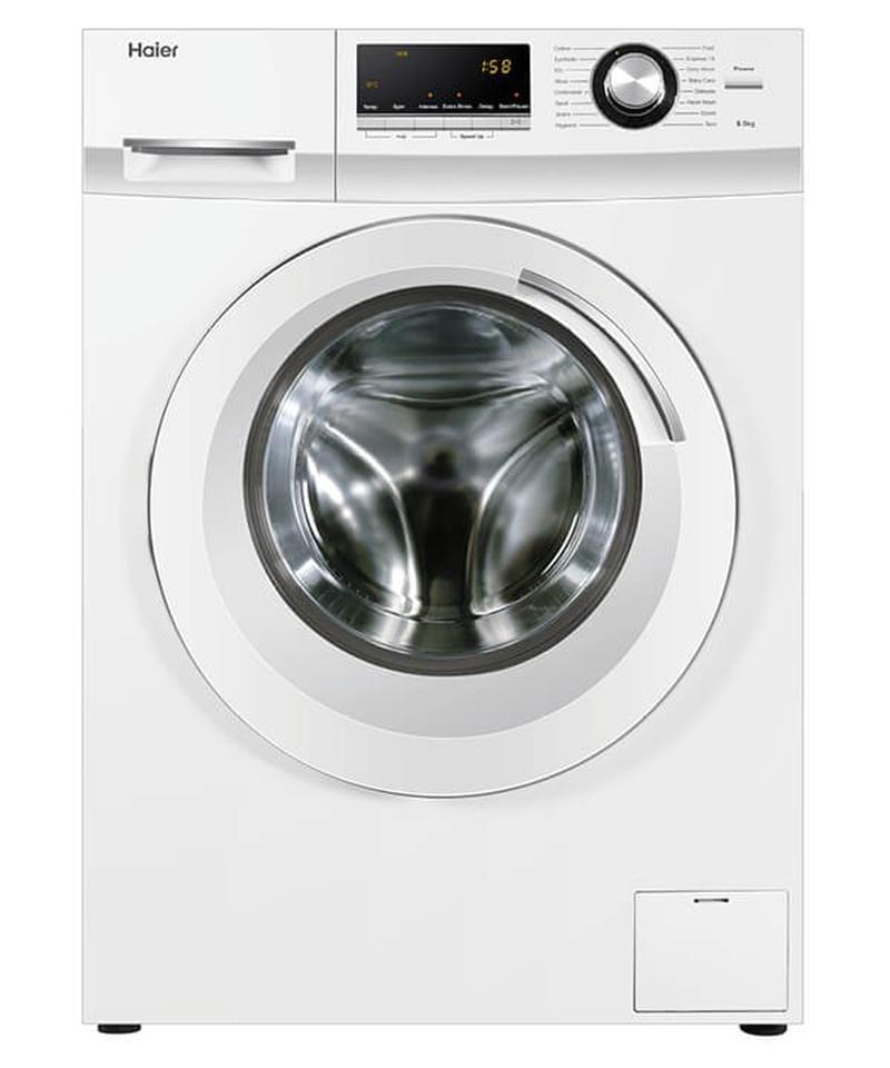 HAIER 8.5Kg Front Load Washer White