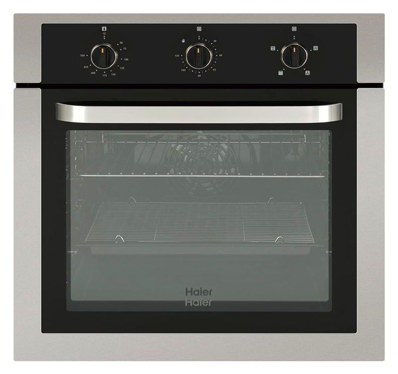 HAIER 60cm Built-In Oven w Clock Manual Controls (HWO60S4MX1)