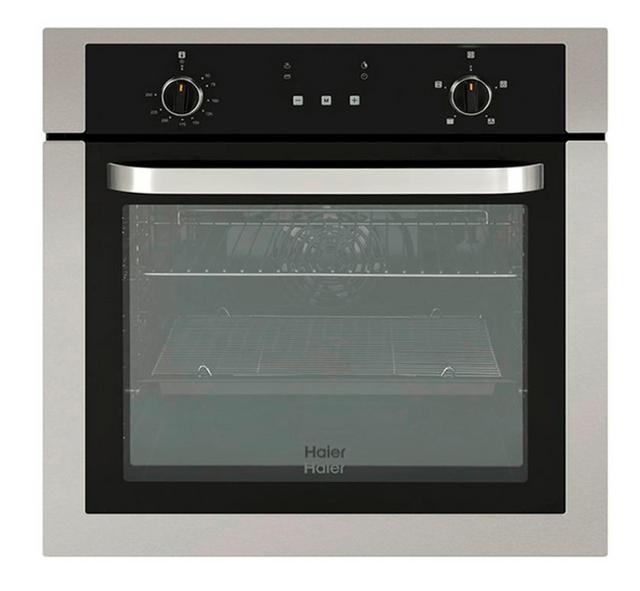 HAIER 60cm Built-In Oven w Digital Clock (HWO60S4LMX1)