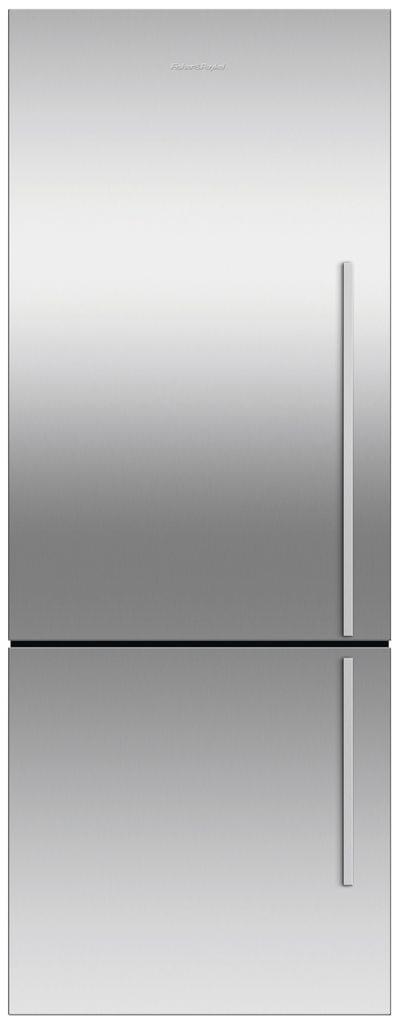 F&P 403L Flat Door Bottom Mount Refrigerator LHH (E402BLXFD5)