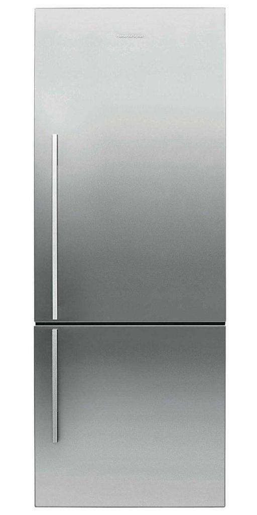 F&P 402L Designer Flat Door Refrigerator (E402BRXFD5)