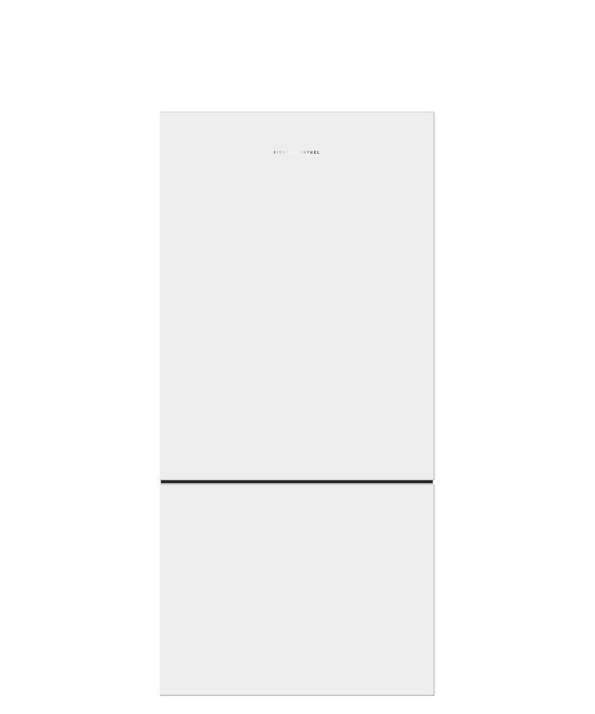 F&P 519 Litre Bottom Mount Refrigerator - Concealed Han (RF522BLPW6)