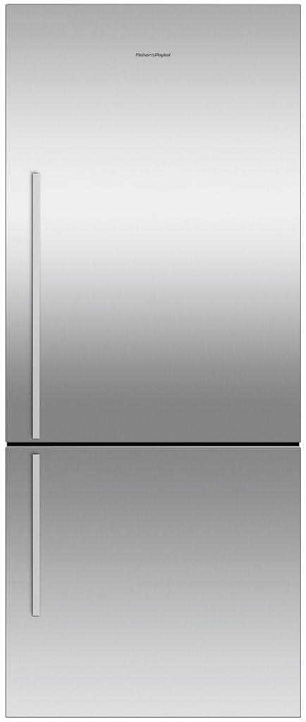F&P 442 Litre Bottom Mount Refrigerator - Visible Handl (RF442BRGX6)