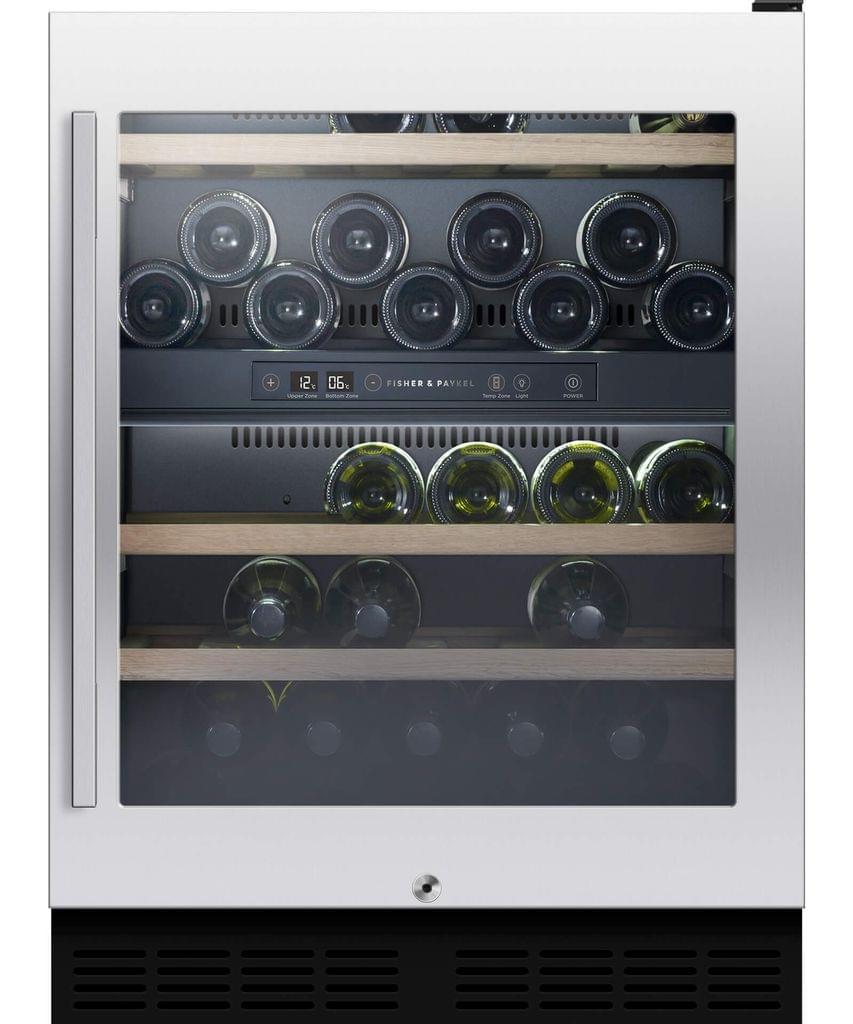 F&P 38 Bottle underbench Dual Zone Wine Cabinet