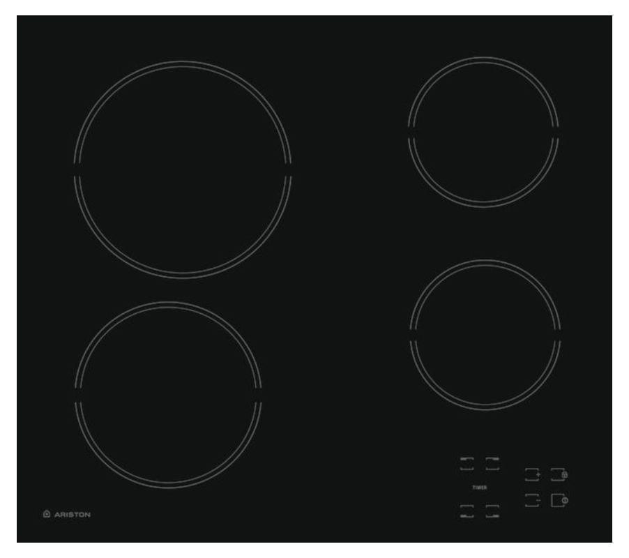 ARISTON 60cm Ceramic Cooktop Touch Controls (HR601CAAUS)