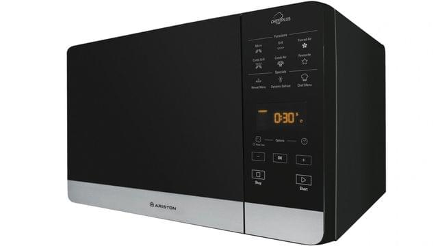 ARISTON 25L Combination Microwave w/ 800W Grill Black
