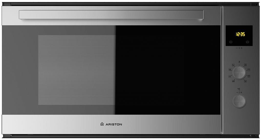 ARISTON 90cm Fan Forced Oven w/- Touch Control Clock