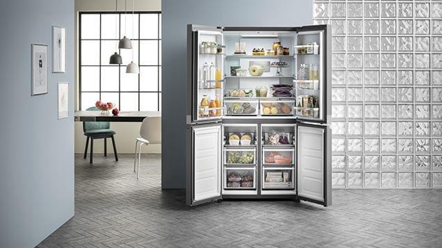 ARISTON 675L Four Door Refrigerator (ARQ2435ISX)