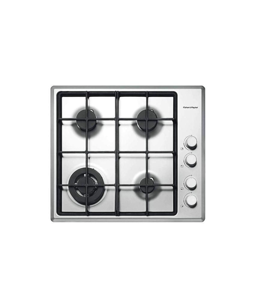 F&P 60cm Wok Burner Ctop Flame Fail Cast Iron Trivets