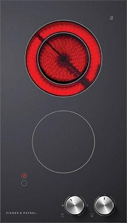 F&P 30cm 2 Element Electric Ceramic Cooktop (CE302CBX2)