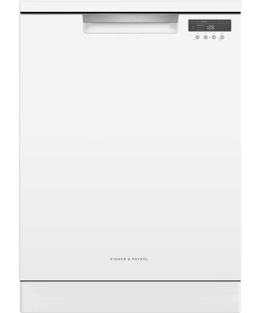 F&P 600mm Freestanding D/Washer 15 Place Settings -Whit (DW60FC6W1)
