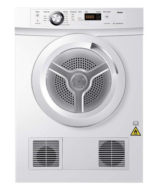 Haier 7Kg Front Load Sensor Vented Dryer