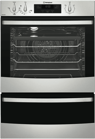 WESTINGHOUSE 60cm 3 Function Gas Walloven Separate Grill (WVG665SNG)
