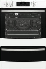 WESTINGHOUSE 60cm 3 Function Gas Walloven Separate Grill (WVG665WNG)