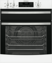 WESTINGHOUSE 60cm 3 Function Gas Oven Separate Elec.Grill (WVG655WNG)