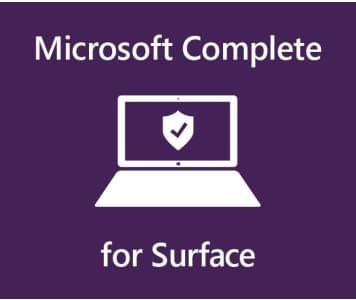 Microsoft� Complete for Bus 1YR on 2YR Mfg Wty SC Warranty a Australia 1 License AUD Surface Pro