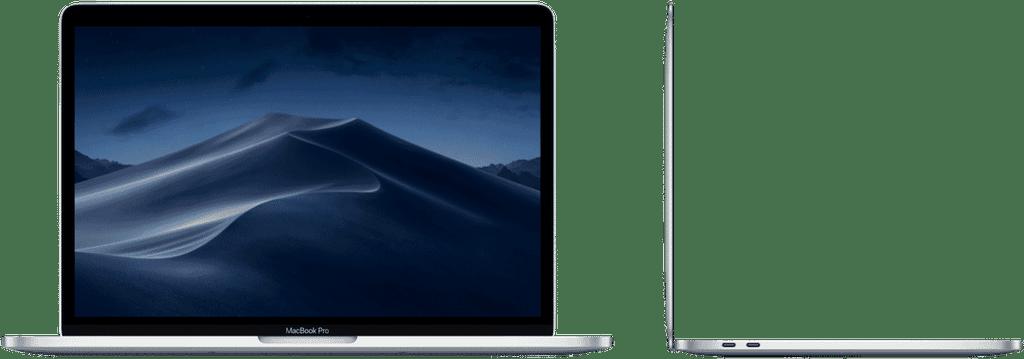 Apple MACBOOK PRO 13-INCH WITH TOUCH BAR: 1.4GHZ QUAD-CORE I5/8GB/256GB/INTEL IRIS PRO 645 - SILVER (MUHR2X/A)