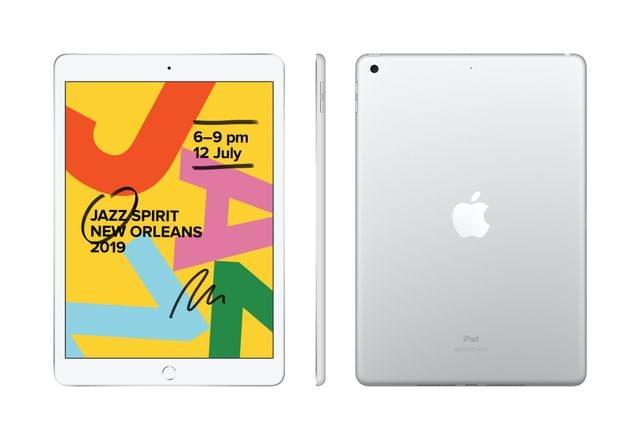 Apple IPAD (7GEN) 10.2-INCH WI-FI + CELLULAR 32GB - SILVER (MW6C2X/A)