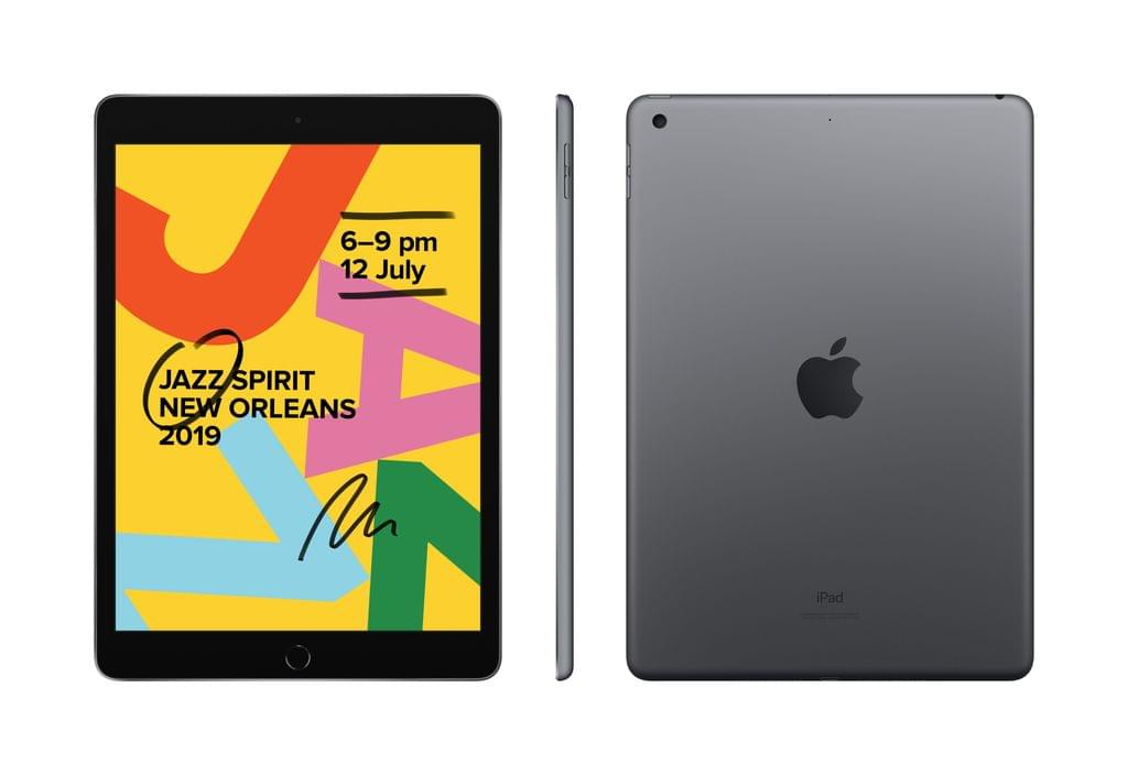 IPAD (7GEN) 10.2-INCH WI-FI + CELLULAR 128GB - SPACE GREY (MW6E2X/A)