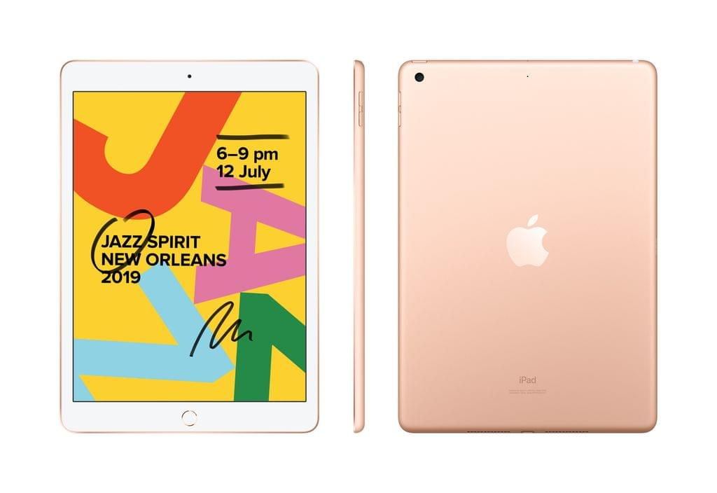 Apple IPAD (7GEN) 10.2-INCH WI-FI + CELLULAR 128GB - GOLD (MW6G2X/A)