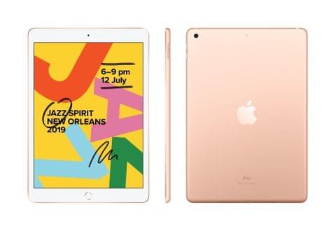 Apple IPAD (7GEN) 10.2-INCH WI-FI + CELLULAR 128GB - GOLD (MW6G2X/A)