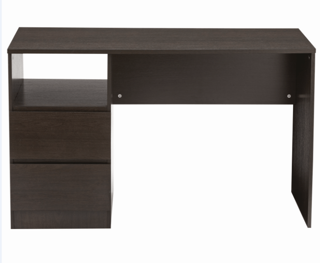 Como Student Study Desk  Black/Brown