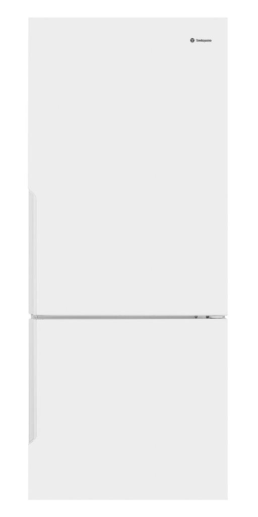 Westinghouse 453L Bottom Mount Refrigerator 4.5*E RHH White