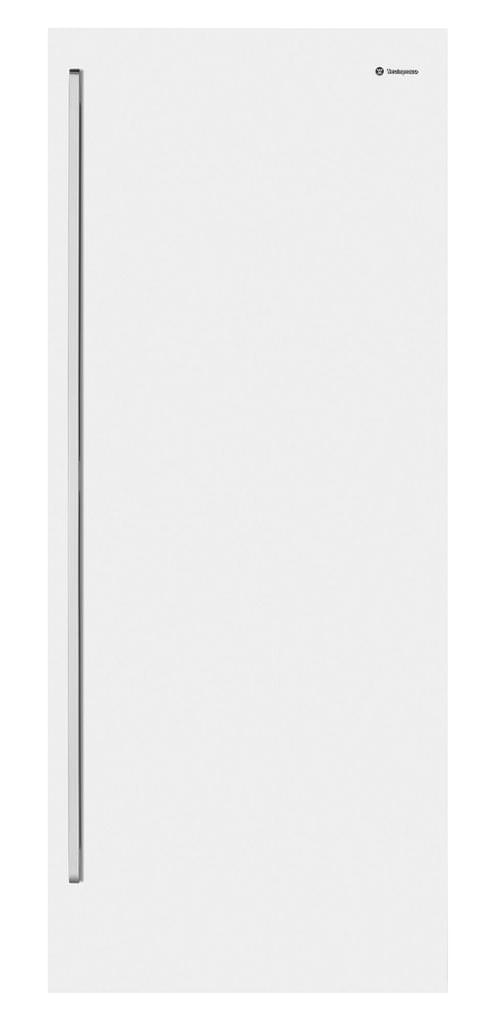 Westinghouse 425L Vertical Freezer White RHH
