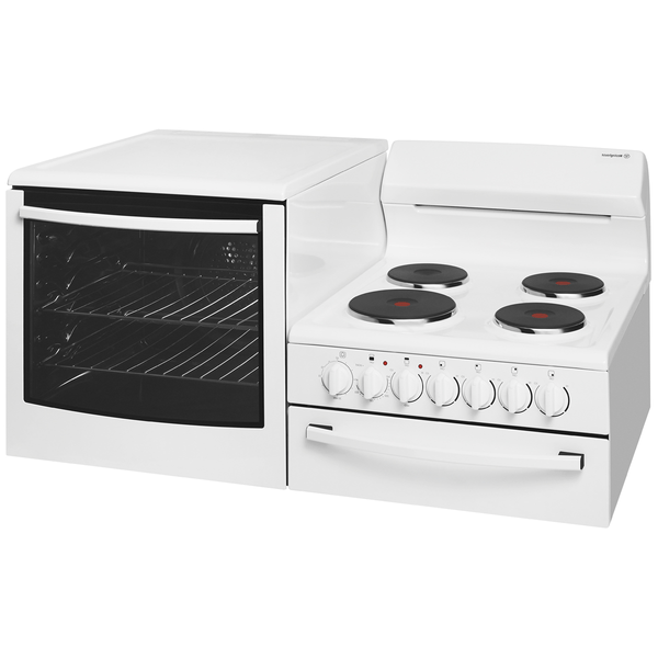 Westinghouse Elevated Electric Freestanding Cooker - Oven LHS