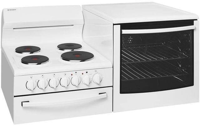 Westinghouse Elevated Electric Freestanding Cooker - Oven RHS