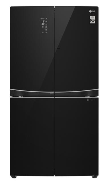 LG 725L French Door-In-Door Fridge Black