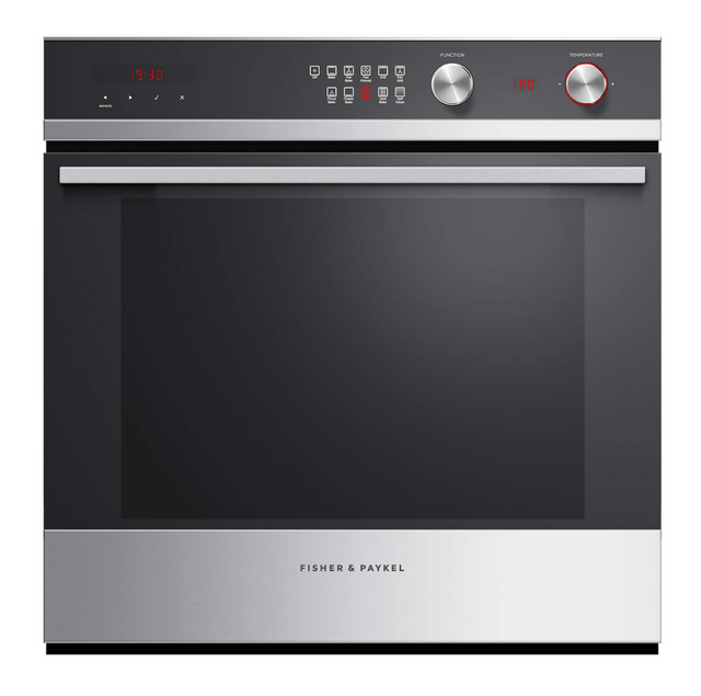 Fisher &Paykel 60cm Built-In Pyrolytic Oven 10 Functions S/S