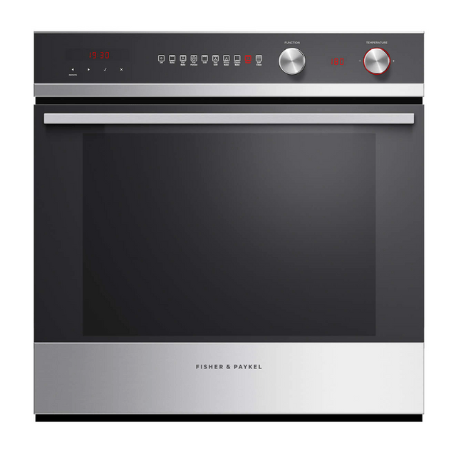 Fisher &Paykel 60cm Pyrolytic Oven 9 Functions