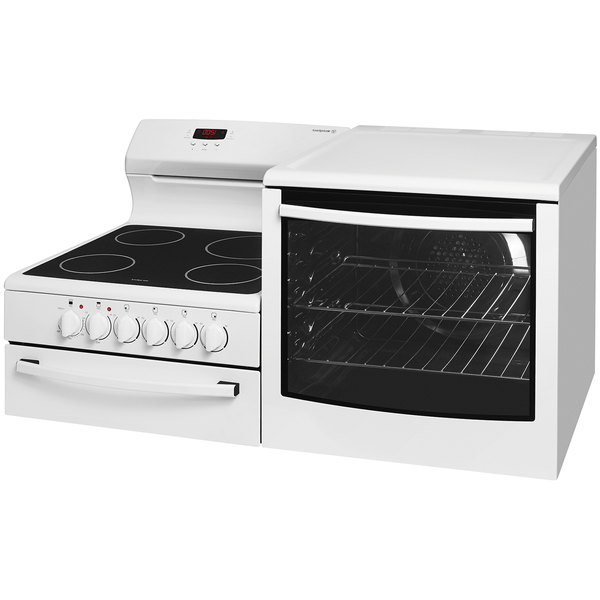 Westinghouse Freestanding Conv Cooker Sep Grill 4 Zone NG Right