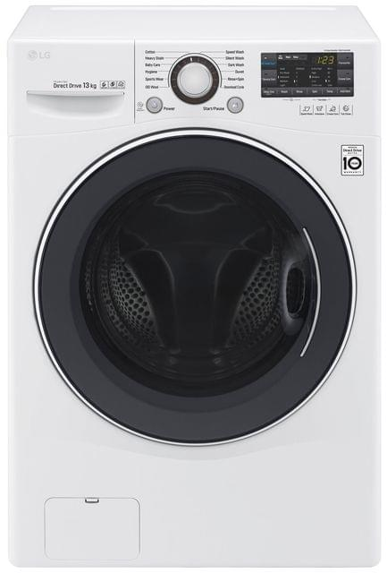 LG 13kg Front Load Washing Machine White