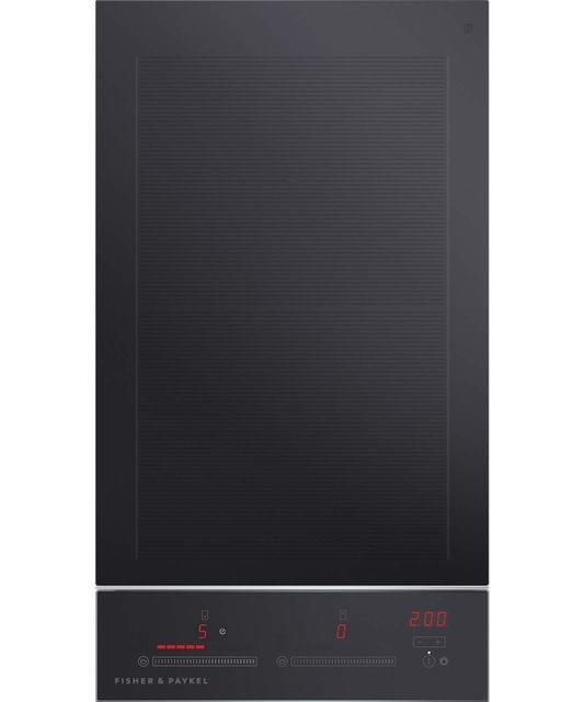 Fisher &Paykel 30cm Induction 2 Zone Cooktop S/S Trim T/Ctrl