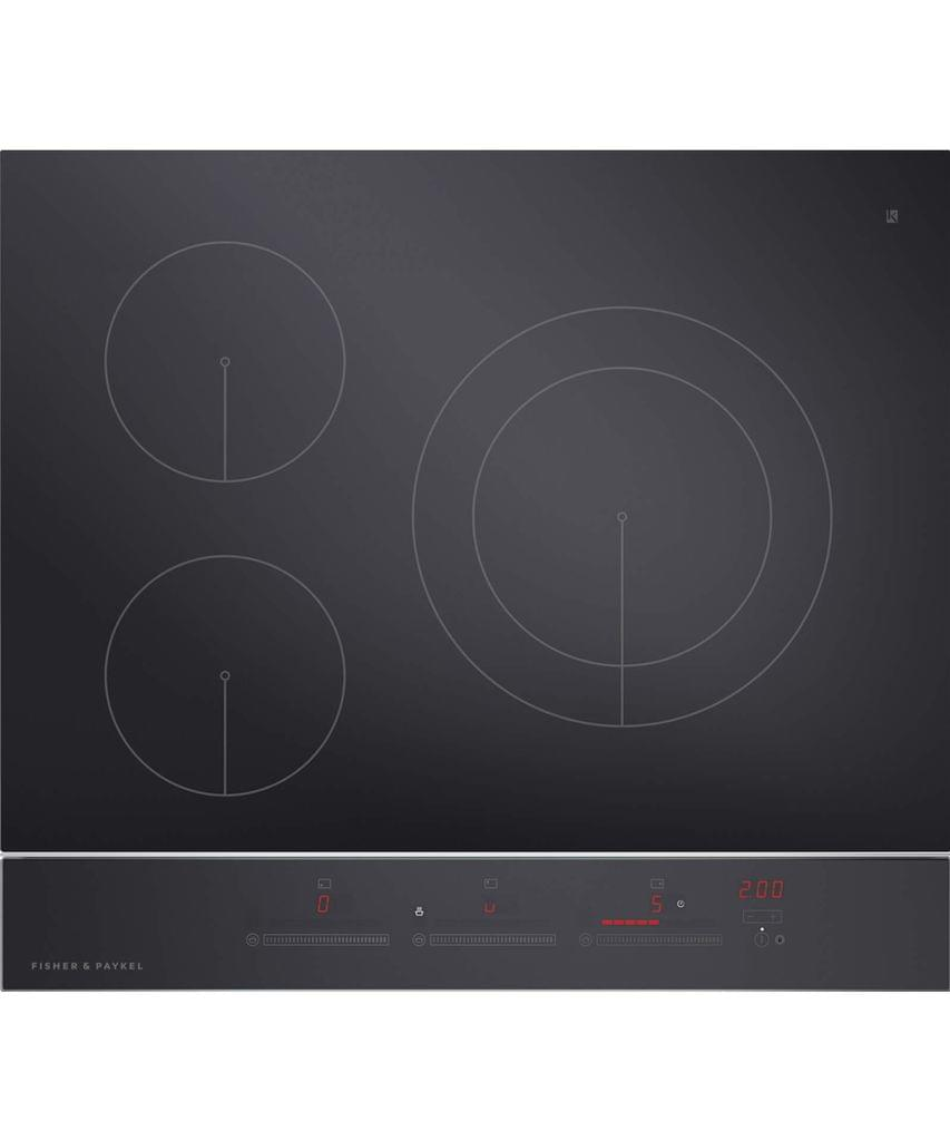 Fisher &Paykel 60cm 3 Zone Induction Cooktop T/Ctl  S/S Trim