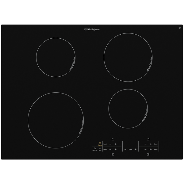 Westinghouse 70cm 4 Zone Induction Cooktop T/Control