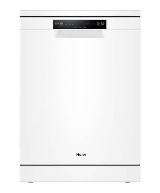Haier 60cm Freestanding Dishwasher 13 Place Settings White