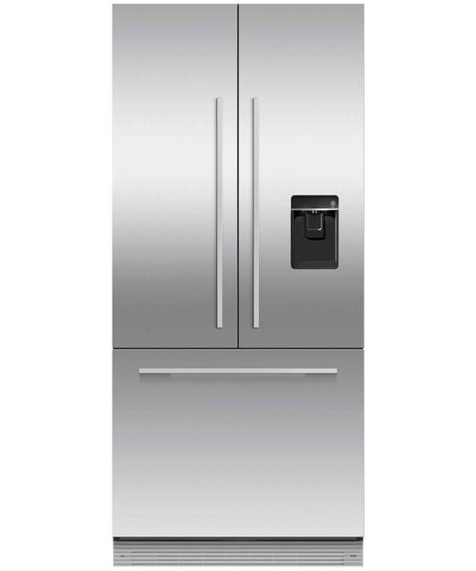 Fisher &Paykel 80cm Integrated French Door Panel Ready Ice&Water