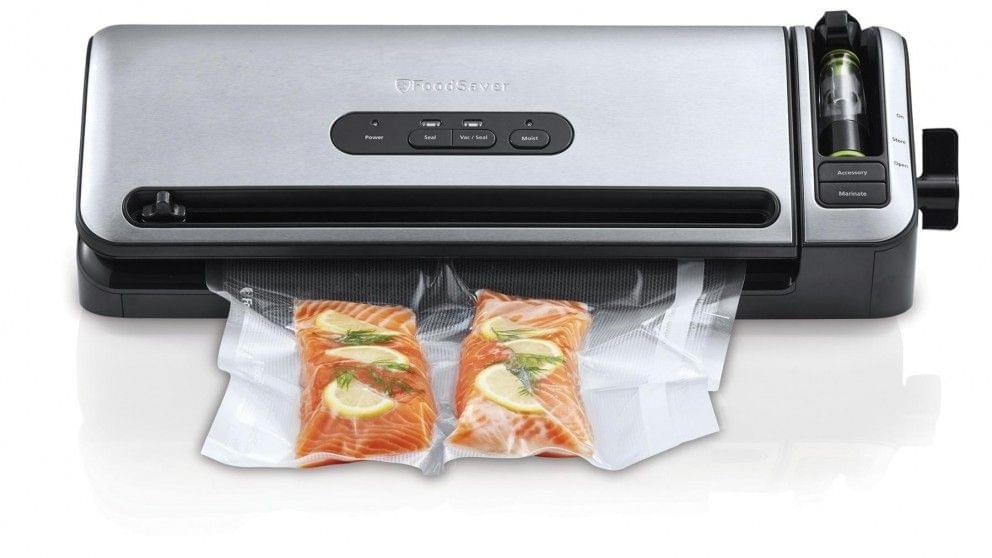 Sunbeam FoodSaver Controlled Seal Food Vacuum Sealer - Stainless Steel