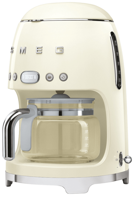 SMEG Drip Filter Coffee Machine - Panna Cream