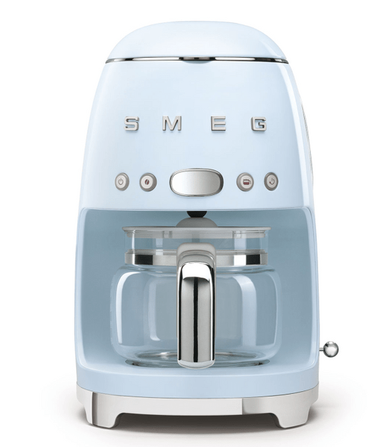 SMEG Drip Filter Coffee Machine - Pastel Blue