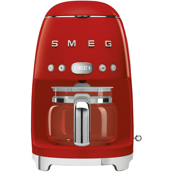 SMEG Drip Filter Coffee Machine - Red