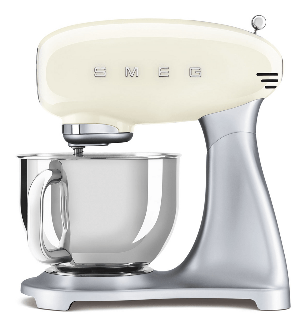 SMEG 4.8L Top Colour Electric Stand Mixer - Cream