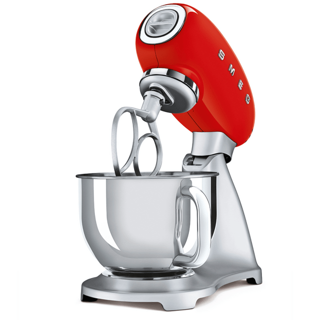 SMEG 4.8L Top Colour Electric Stand Mixer - Red
