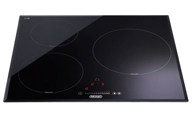 DeLonghi 60cm 3 Zone Ceramic Induction Cooktop