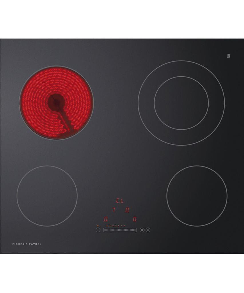 Fisher &Paykel 60cm Touch & Slide Ctrl Ceramic Cooktop Frameless